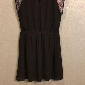 Pixley Dresses - Black & sequin LBD